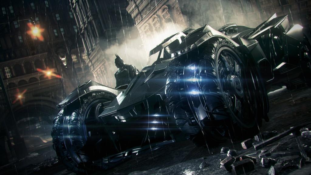 I wish I had that Batmobile from Arkham Knight