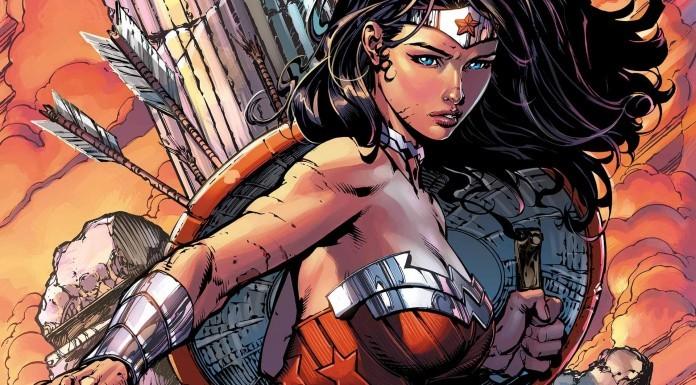 Comic artwork for Wonder Woman