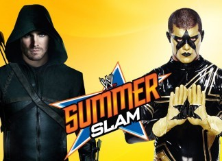 Stephen Amell Vs. Stardust at SummerSlam