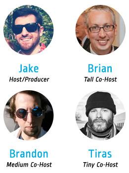 superhero podcast hosts