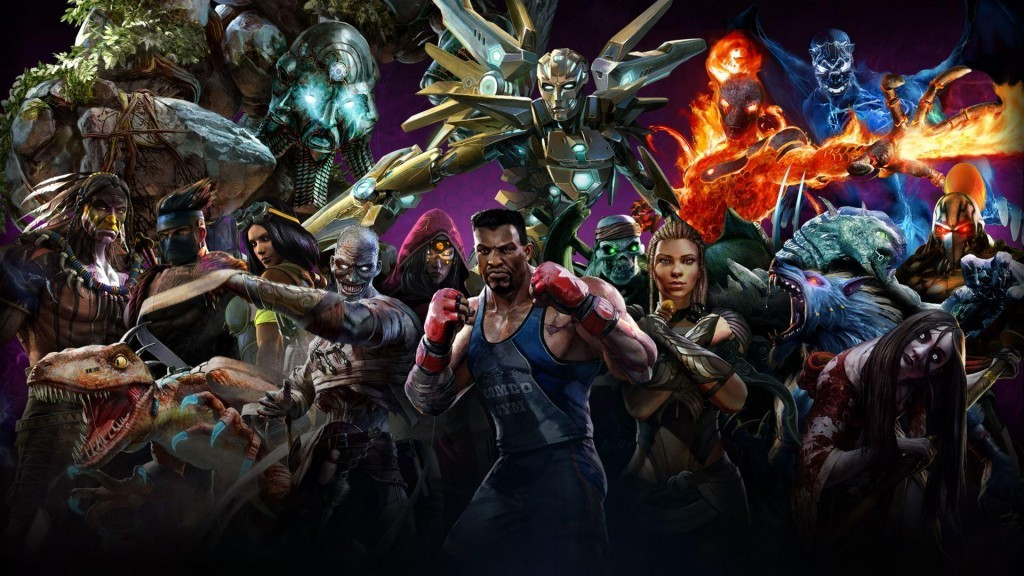 Killer Instinct Seasons 1 & 2 Roster