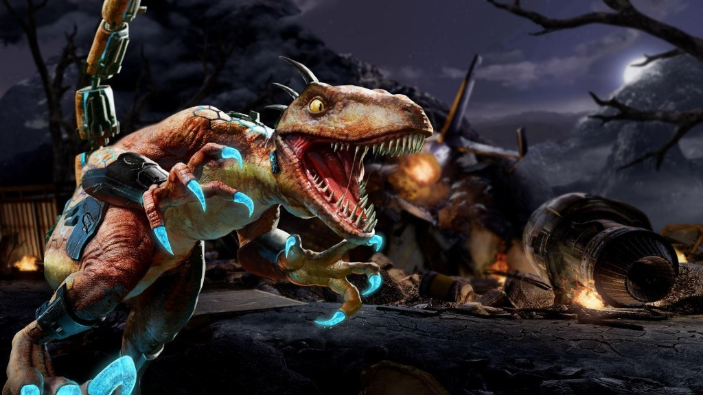 Riptor injects Killer Instinct with a bit of rage that feels primal.