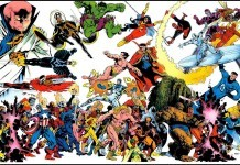 Old School Marvel Characters