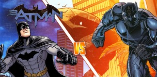 Batman v Black Panther!