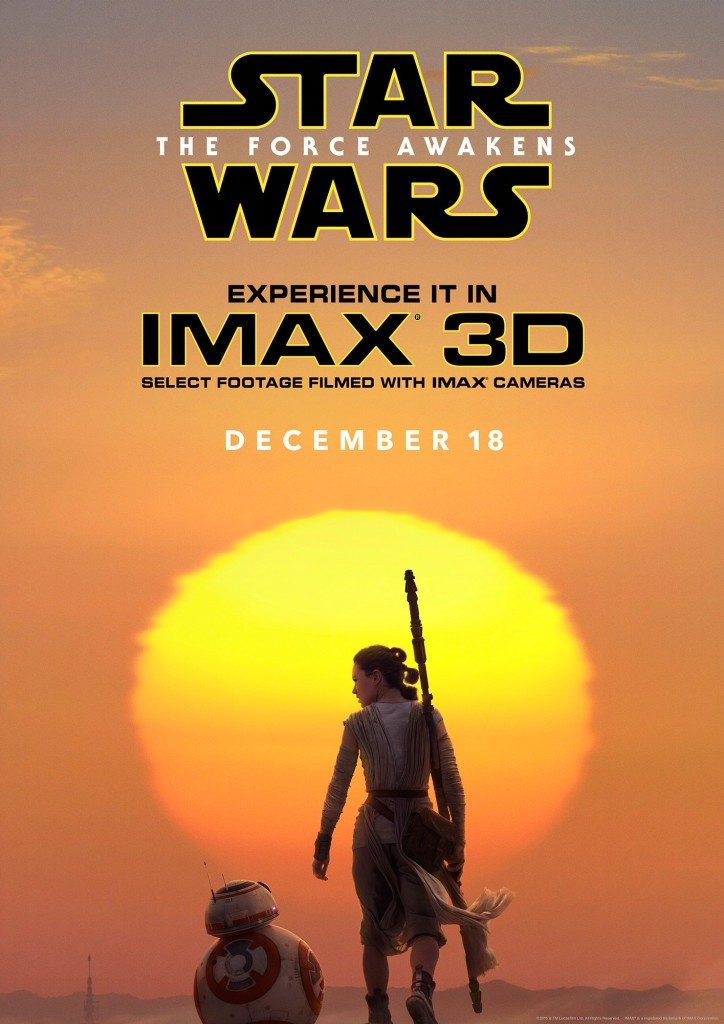 Star Wars: The Force Awakens IMAX Movie Poster