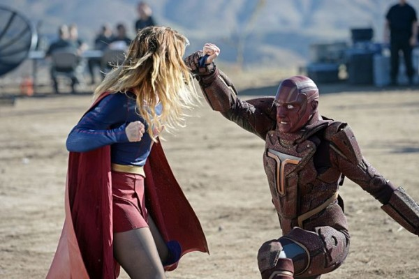 Supergirl and Red Tornado duke it out in Supergirl Episode 6!