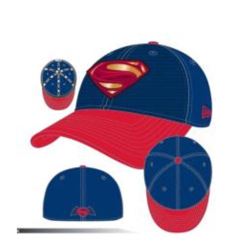 Armor Batman V Superman: Dawn of Justice Superman Symbol 3930 Hat!