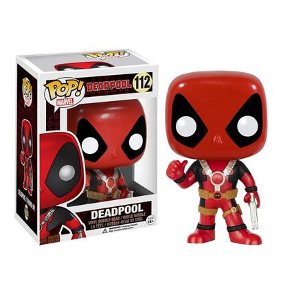 Deadpool Thumbs Up Pop Vinyl Bobblehead