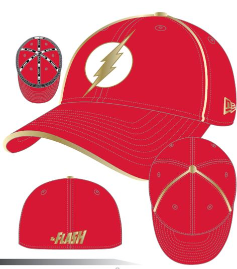Armor Batman V Superman: Dawn of Justice Wonder Flash 3930 Fitted Hat!