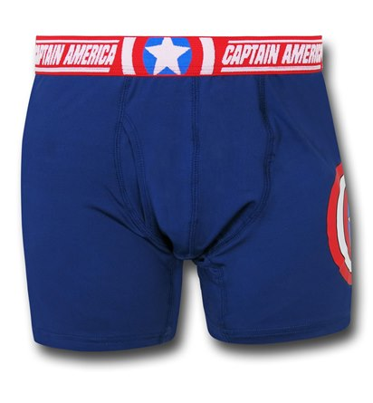 Captain America Symbol and Waist Boxer Briefs
