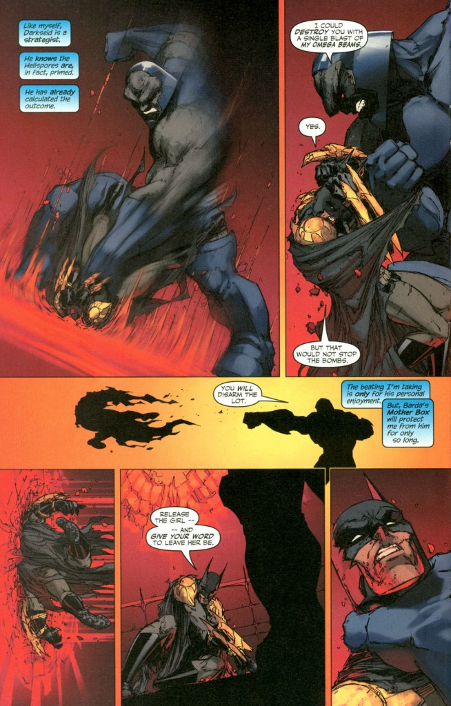 Batman v Darkseid!