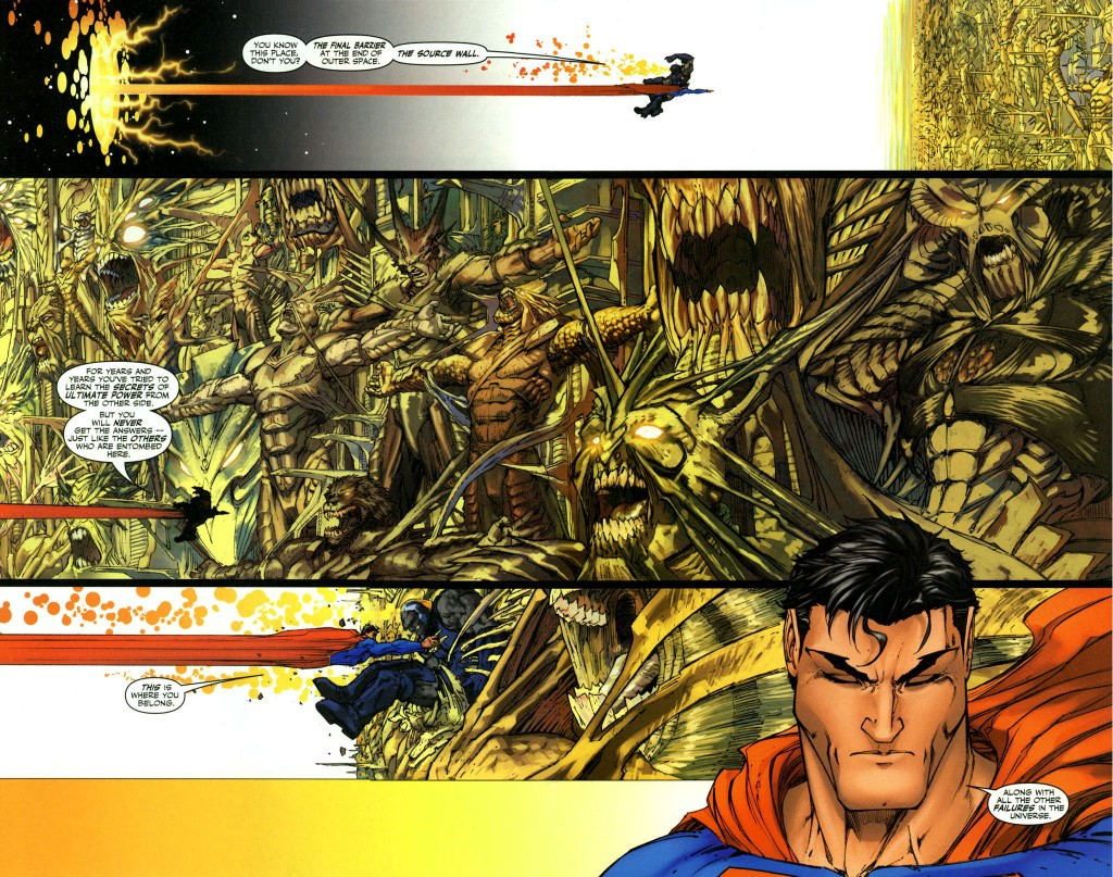Superman V Darkseid!