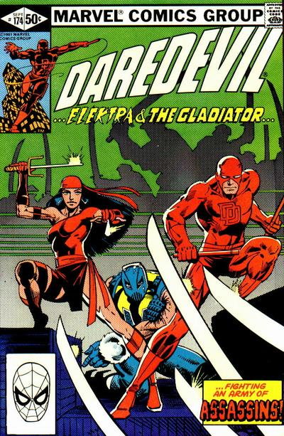Daredevil #174, the first appearance of the Hand