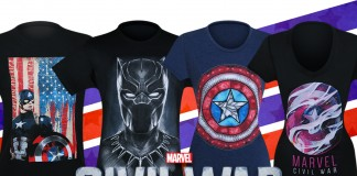 New Civil War T-Shirts Phase 3!
