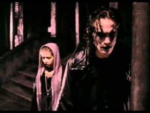Maybe it was Eric Draven on that guitar?