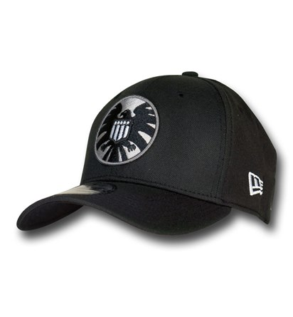 S.H.I.E.L.D. Symbol Black 39Thirty Cap