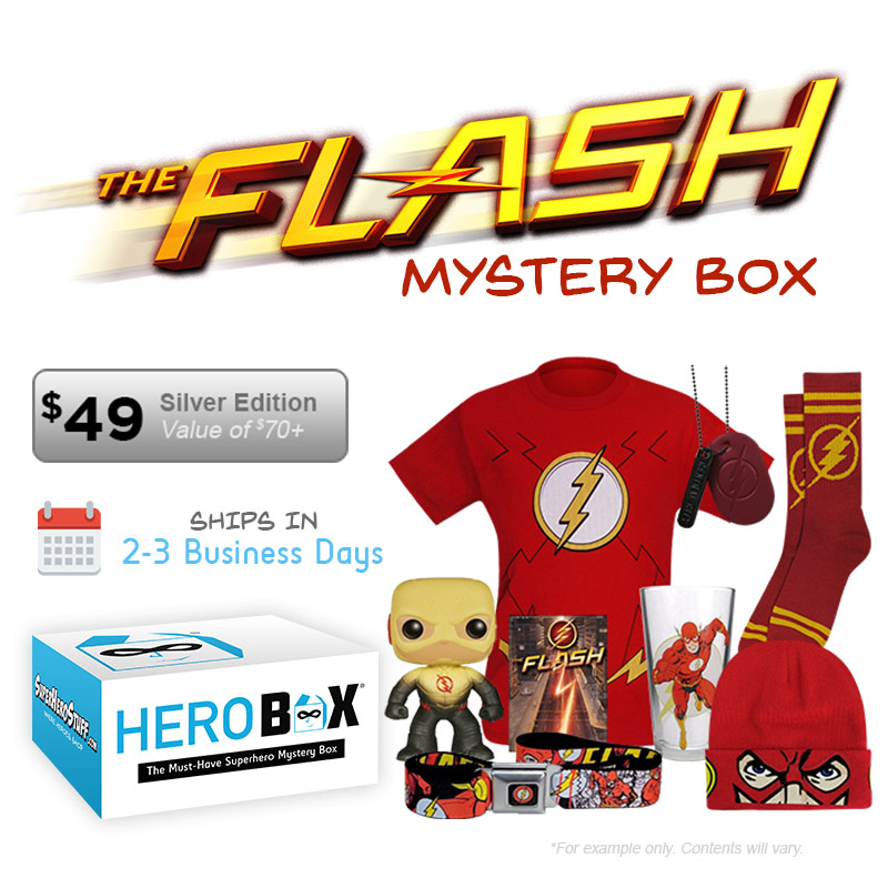 Get Your Flash Silver Edition HeroBox TODAY!