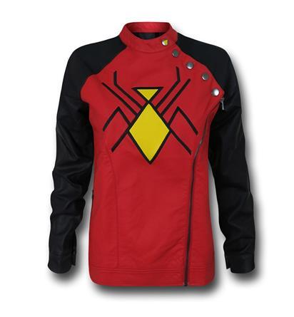 The Source Swag Spotlight: Spider-Woman Moto Women's Jacket