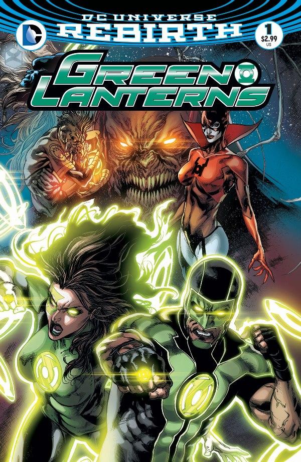 Green Lanterns #1 Review