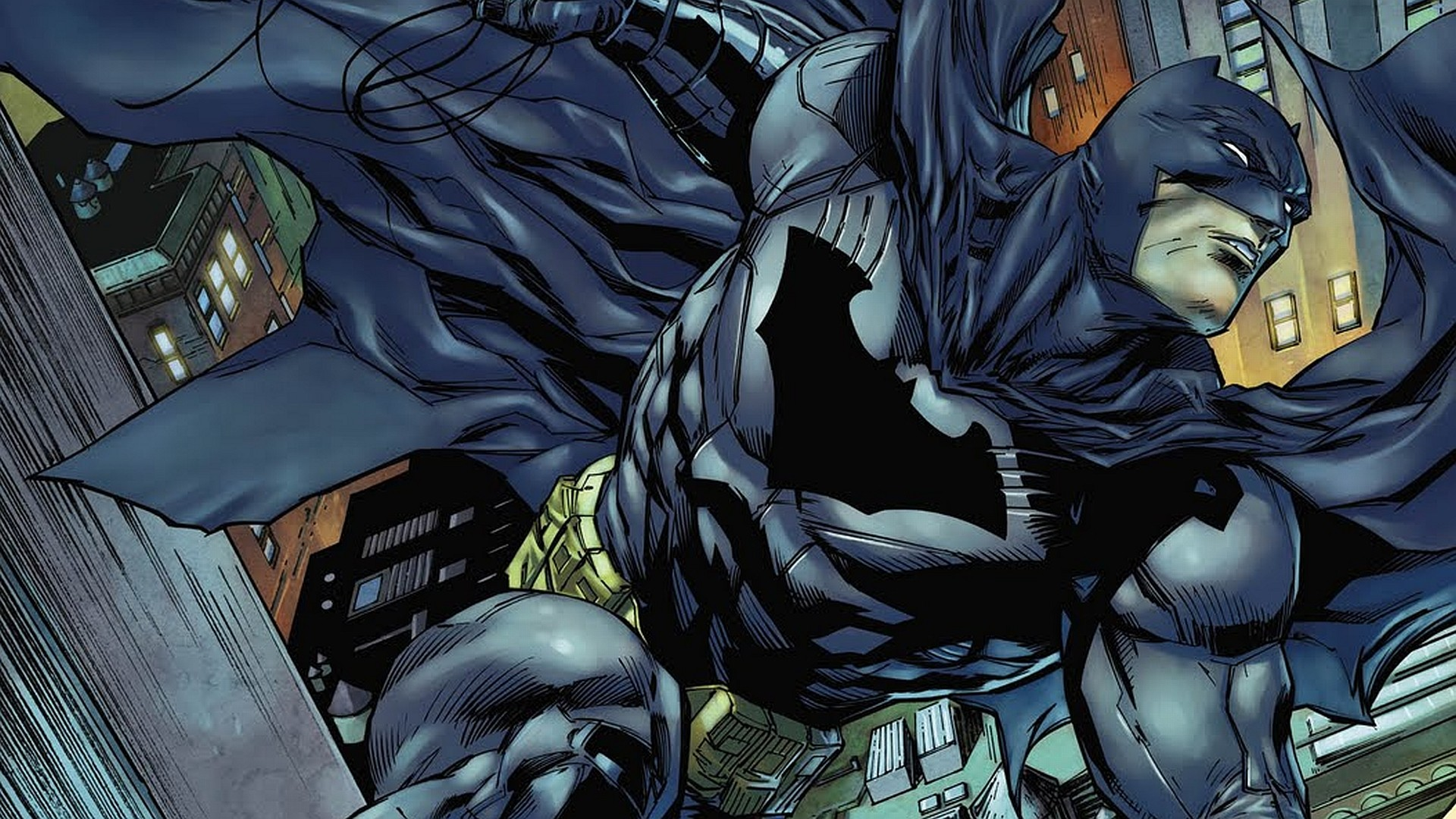 The History of Batman, the Dark Knight of Gotham Batman Comic Cover Wallpaper