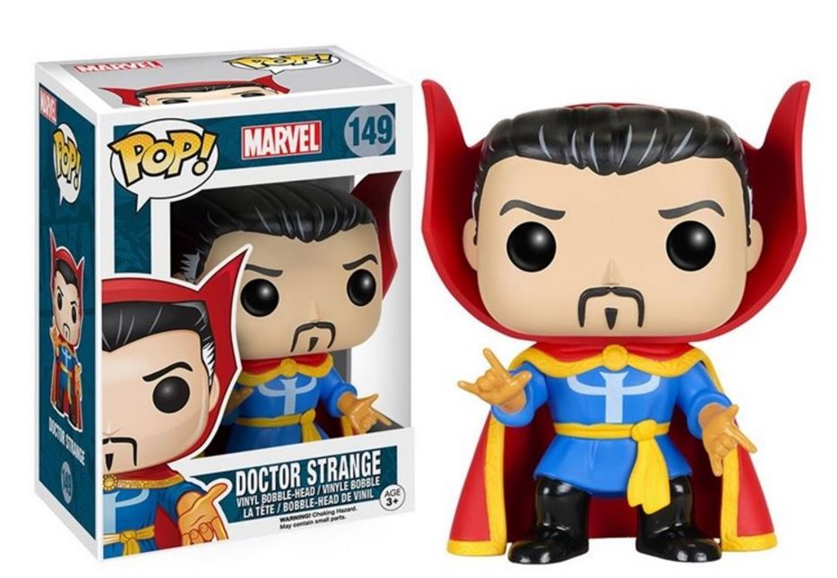 Check out the Dr. Strange Classic Funko Pop Vinyl Bobble Head!