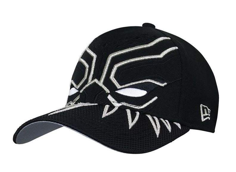 Black Panther Armor New Era 39Thirty Hat