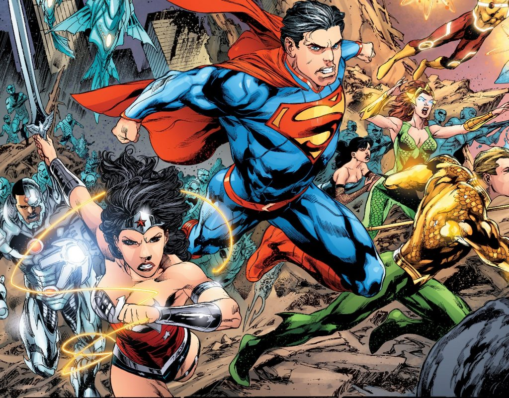 From Death to DC REBIRTH: The First Batch of Books Detailing DC's Renaissance