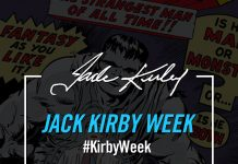 "MARVEL HONORS JACK ""THE KING"" KIRBY WITH A WEEK LONG CELEBRATION!"