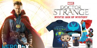 Celebrate the Vigilant Defender of Our Dimension with the Doctor Strange HeroBox!