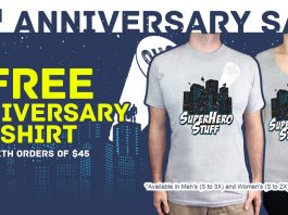 IIt's the Superherostuff 17th Anniversary Sale!