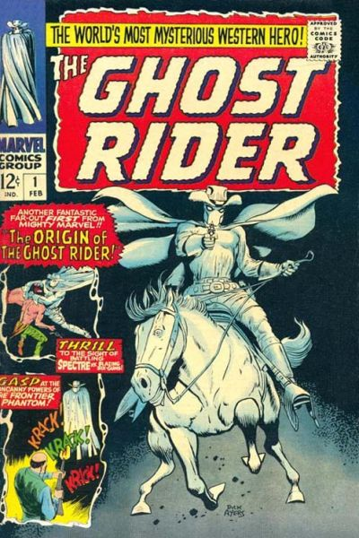 The Hell-Fueled History of Comics' Nine Ghost Riders!