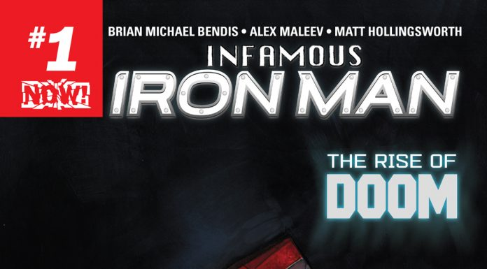 This October, Doom Dons the Armor in INFAMOUS IRON MAN #1