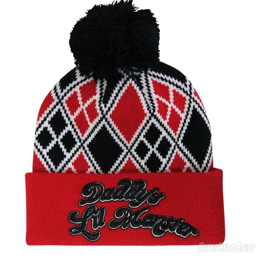 Product Spotlight: It's the Harley Quinn Suicide Squad Pom Pom Beanie!