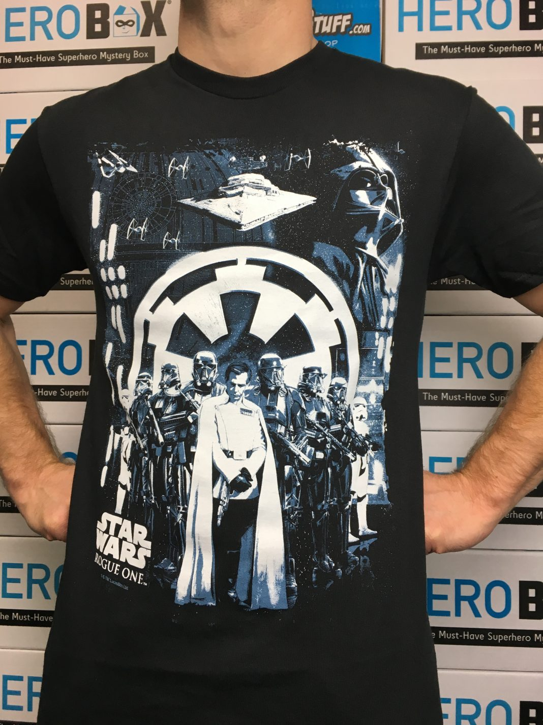 Product Spotlight: Star Wars Rogue One Looming Empire Men's T-Shirt