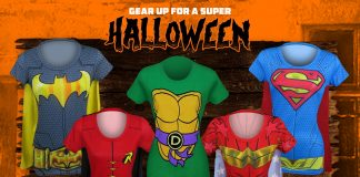 Top 10 Superhero Costume T-Shirts for Women