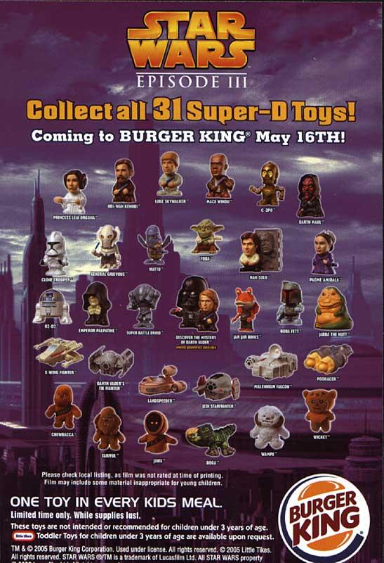 Favorite Superhero and Sci-Fi Fast Food Tie-Ins!