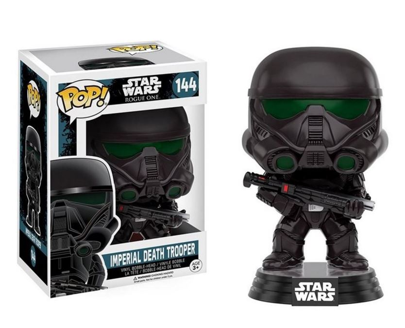It's the Star Wars Rogue One Imperial Death Trooper Pop Figure!