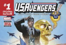 Stars, Stripes & Explosive Action – Your First Look at U.S.AVENGERS #1!