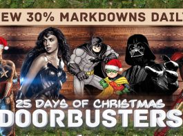 It's Our In Progress, 25 Days of Christmas Doorbusters Sale!