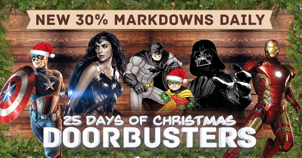 It's Our In-Progress, 25 Days of Christmas Doorbusters Sale!