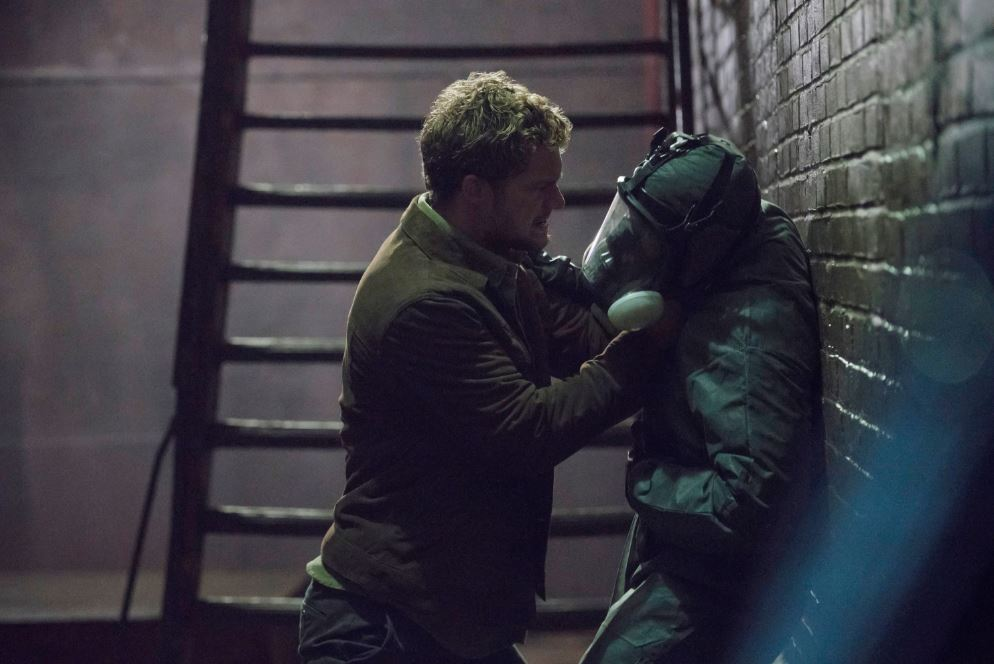 Iron Fist Agressively Questions a Perp in One of Two New Images for THE DEFENDERS