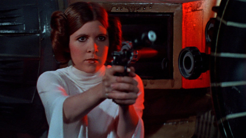 leia packing heat