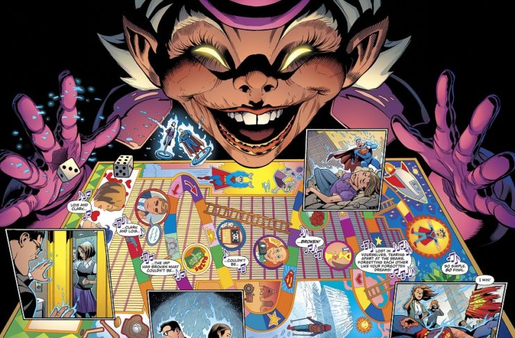 Superman #19 (Superman Reborn) Review: The Madness of Mxyzptlk!
