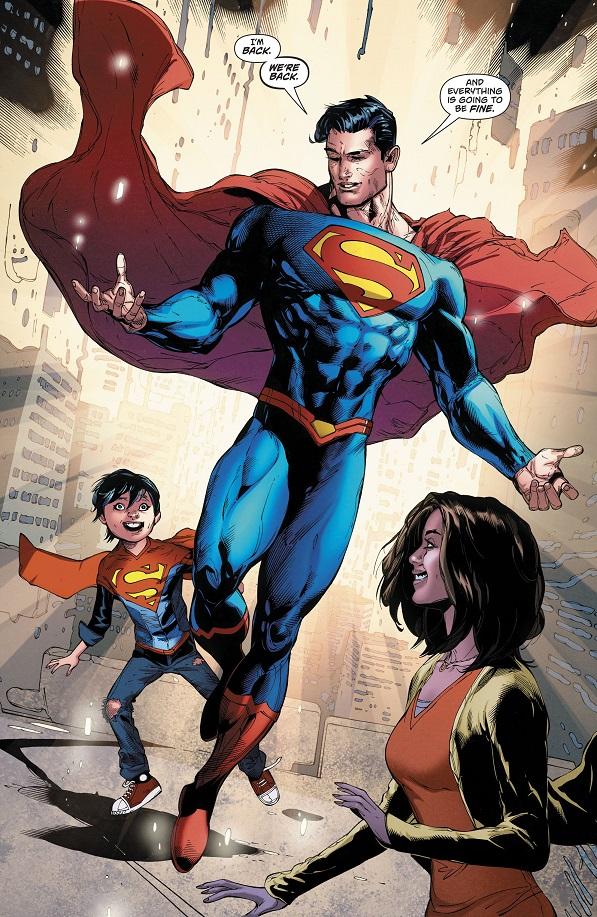 Action Comics #976 Review (Superman Reborn): Restoration and Revelation!