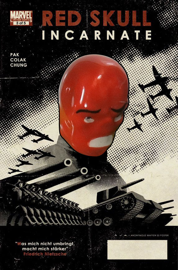 A Paradody Red Skull Cover
