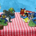 Comic Book Salt and Pepper Shakers