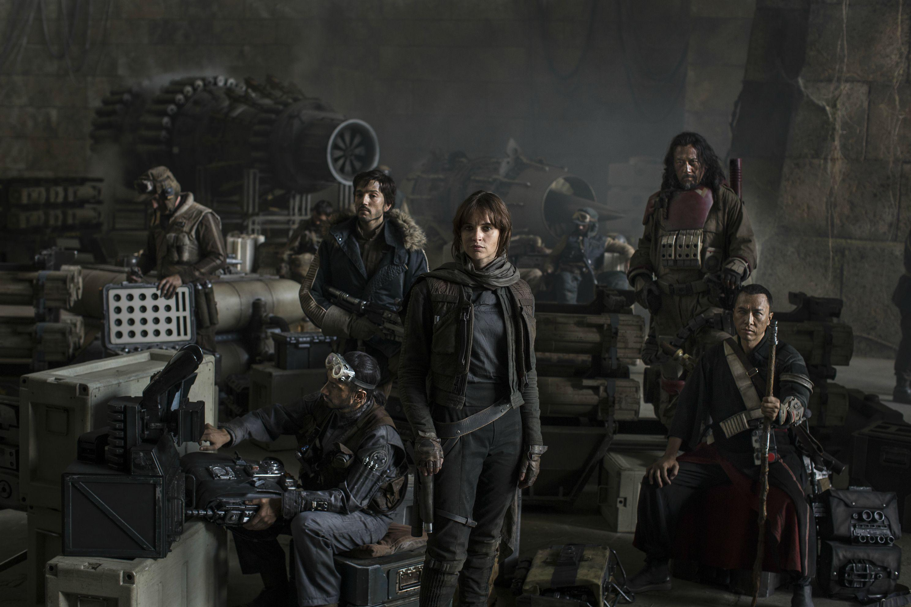 Rogue One Cast reveal!