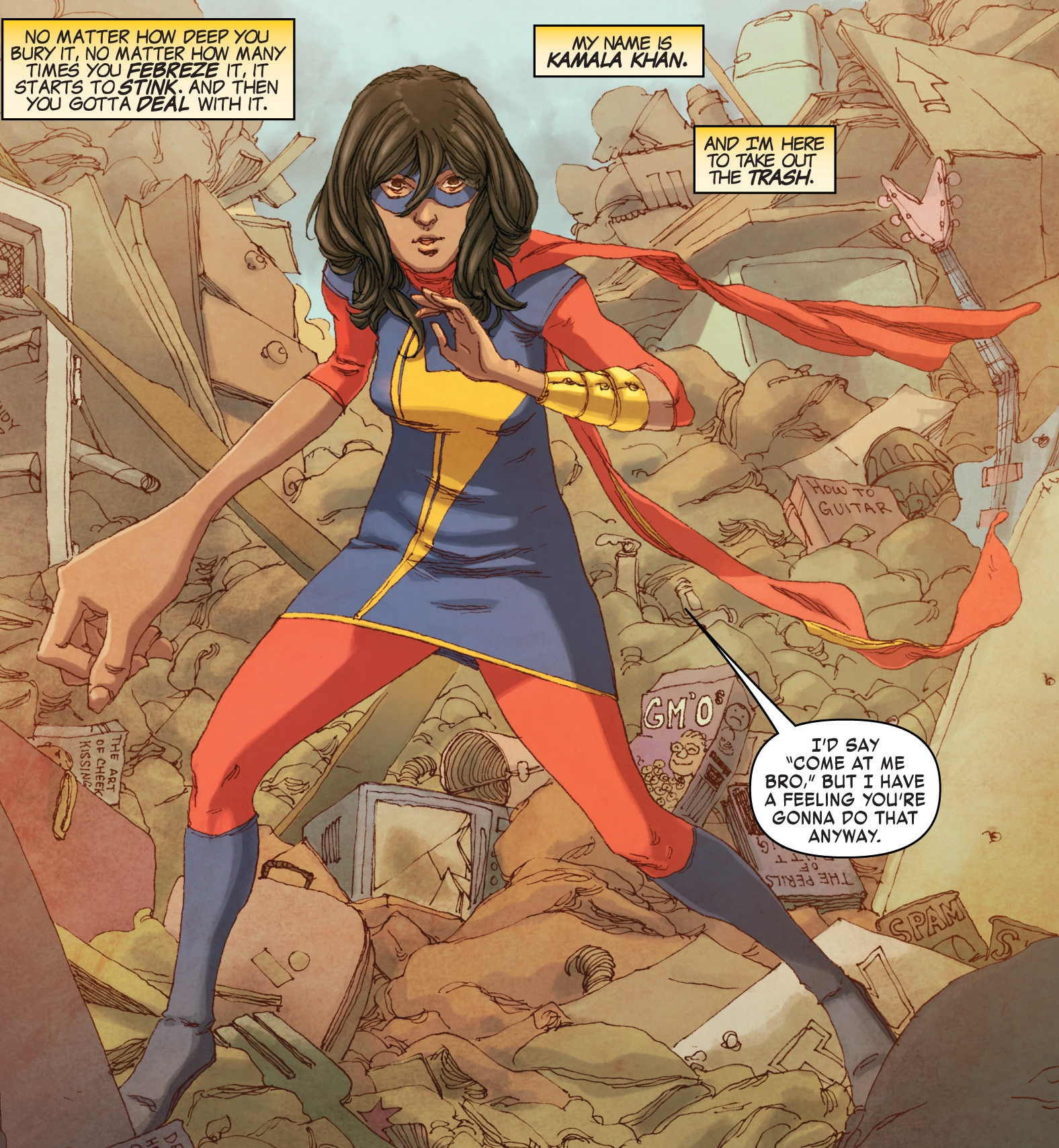 Kamala Khan, the new Ms. Marvel