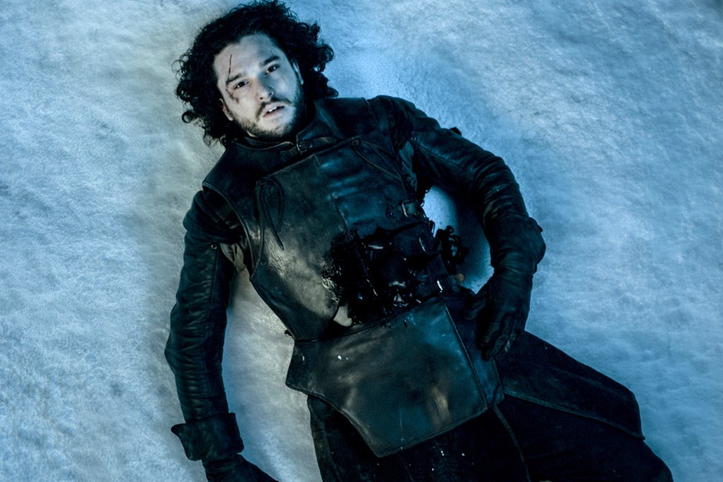 Jon Snow isn't doing very well.