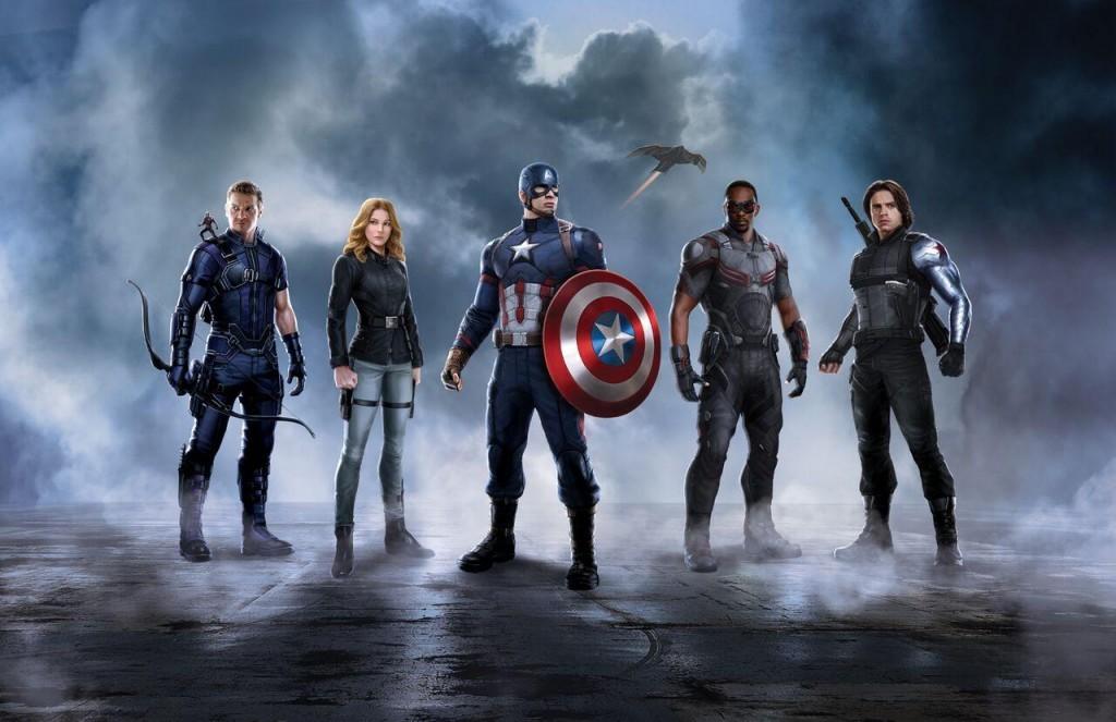 Captain America's  Civil War sides